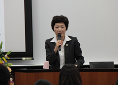 Dr. Yasuko Yamamura, Program Officer for the Special Coordination Funds for Promoting Science and Technology Japan Science and Technology Agency (JST)